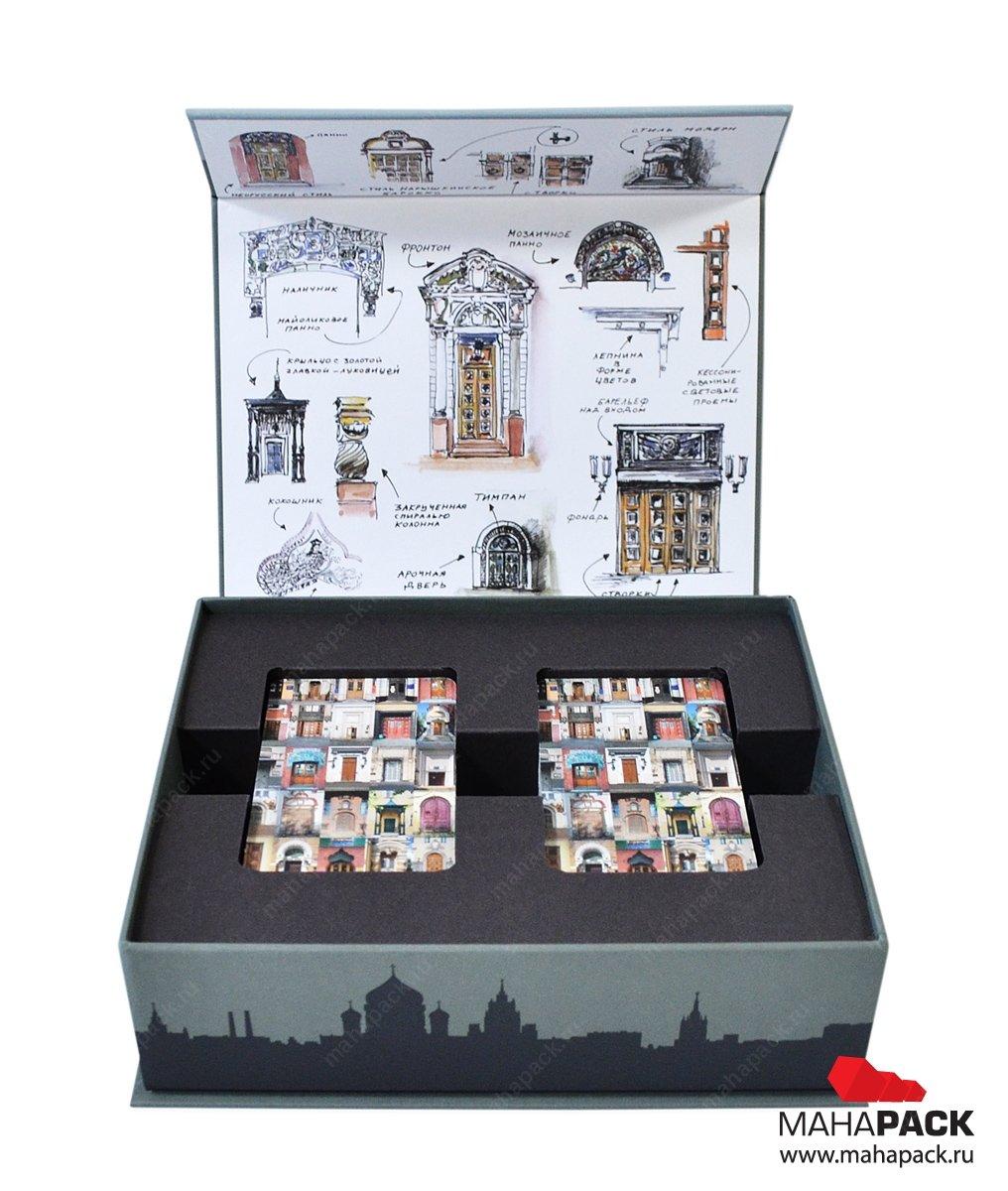 Производство подарочных коробок на заказ