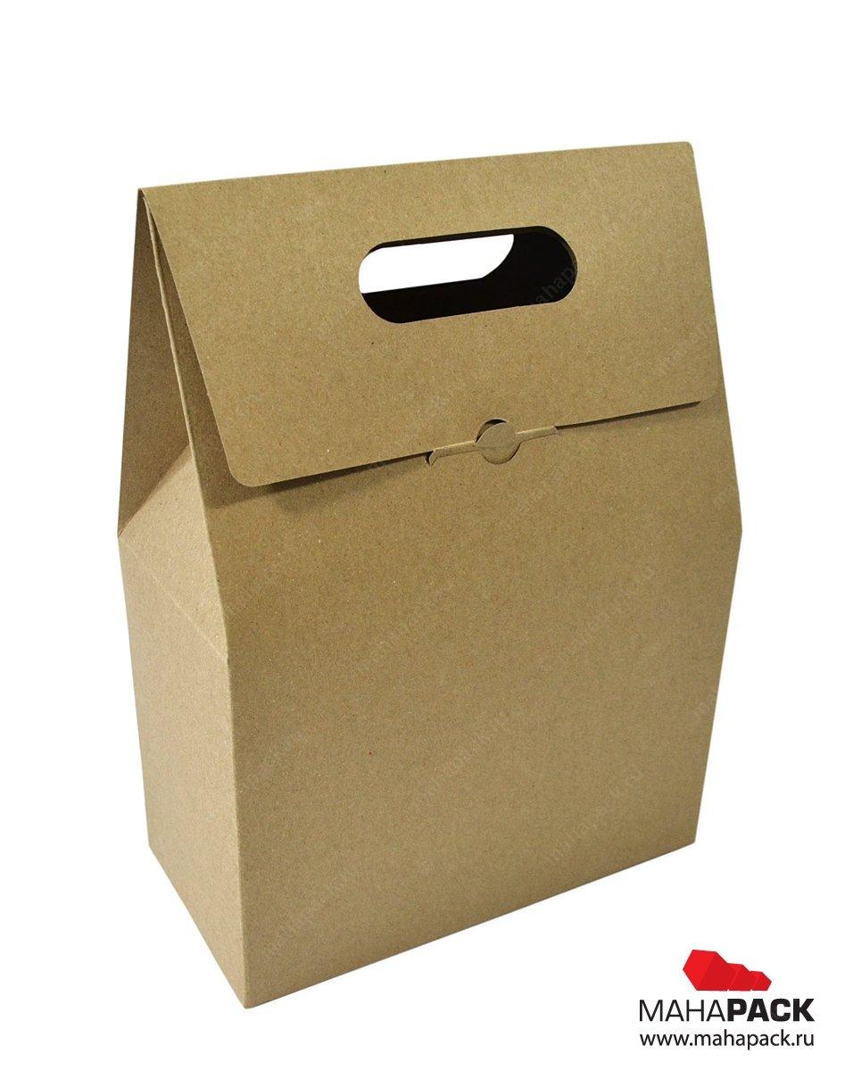 Экологичная коробка, упаковка-пакет для орехов