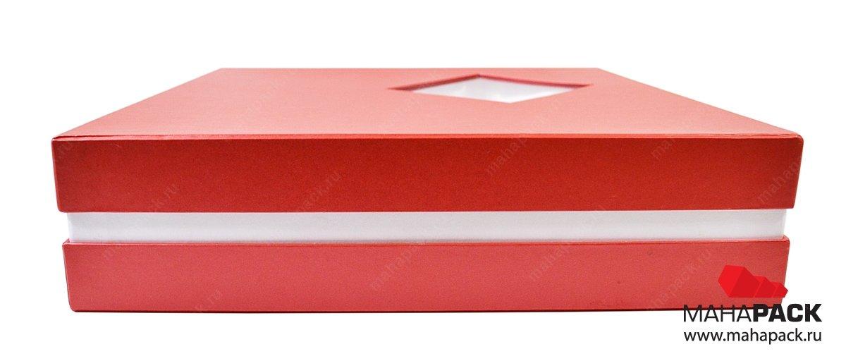 Кашированная коробка крышка дно для подарка