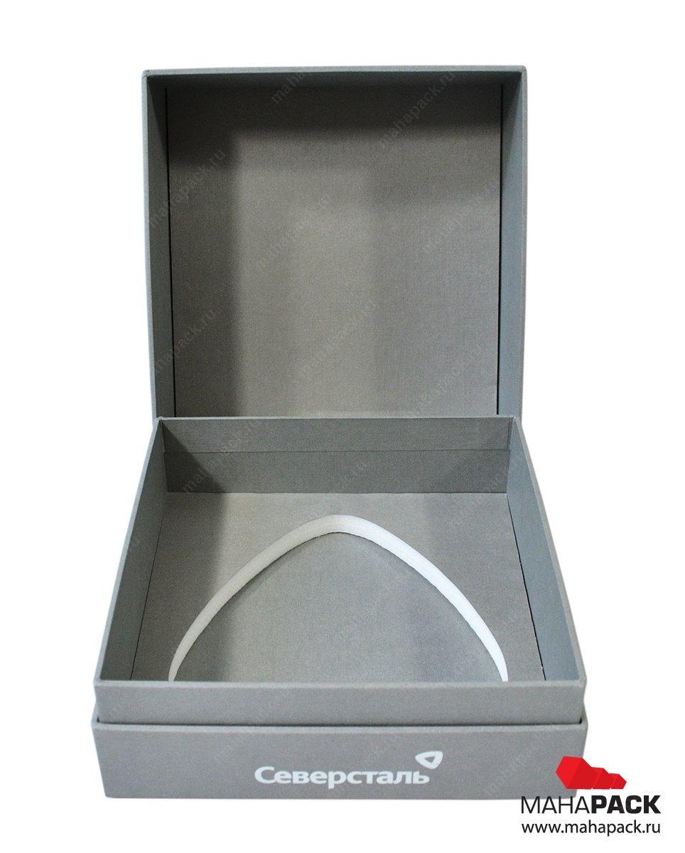 Кашированная коробка для сувенира