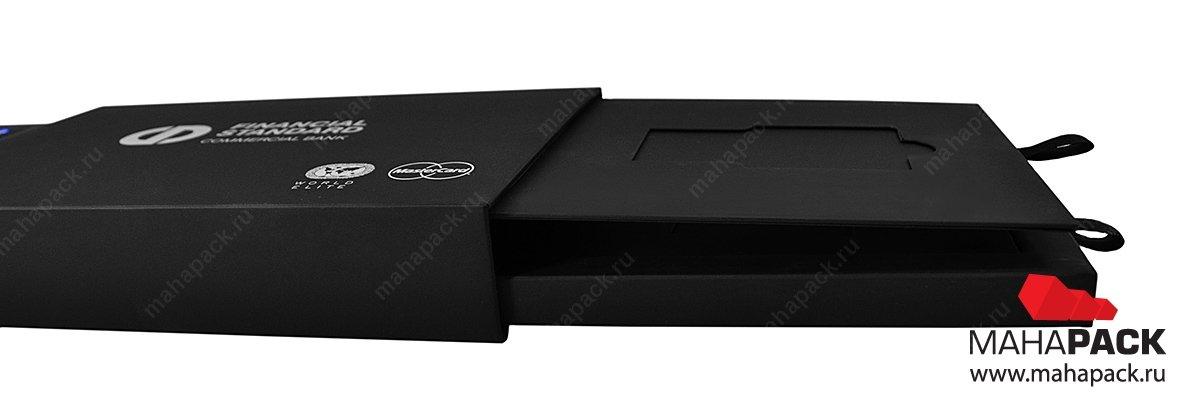 Коробка из дизайнерского картона премиум класса