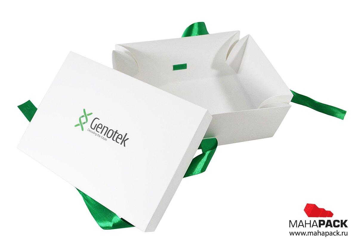 Упаковка подарочная с печатью логотипа