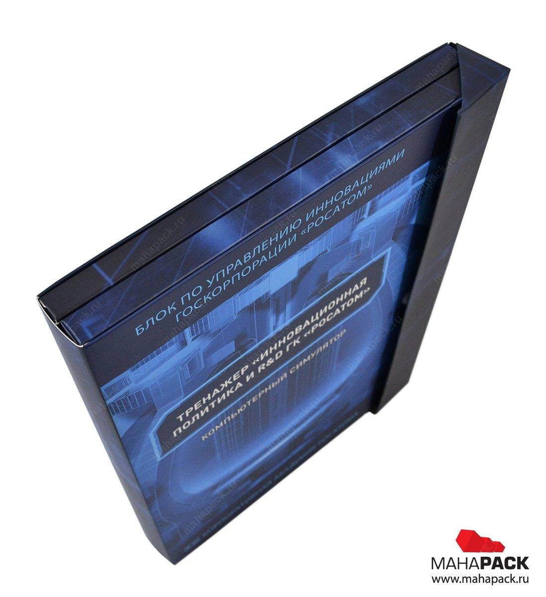 Картонная упаковка с треугольным клапаном