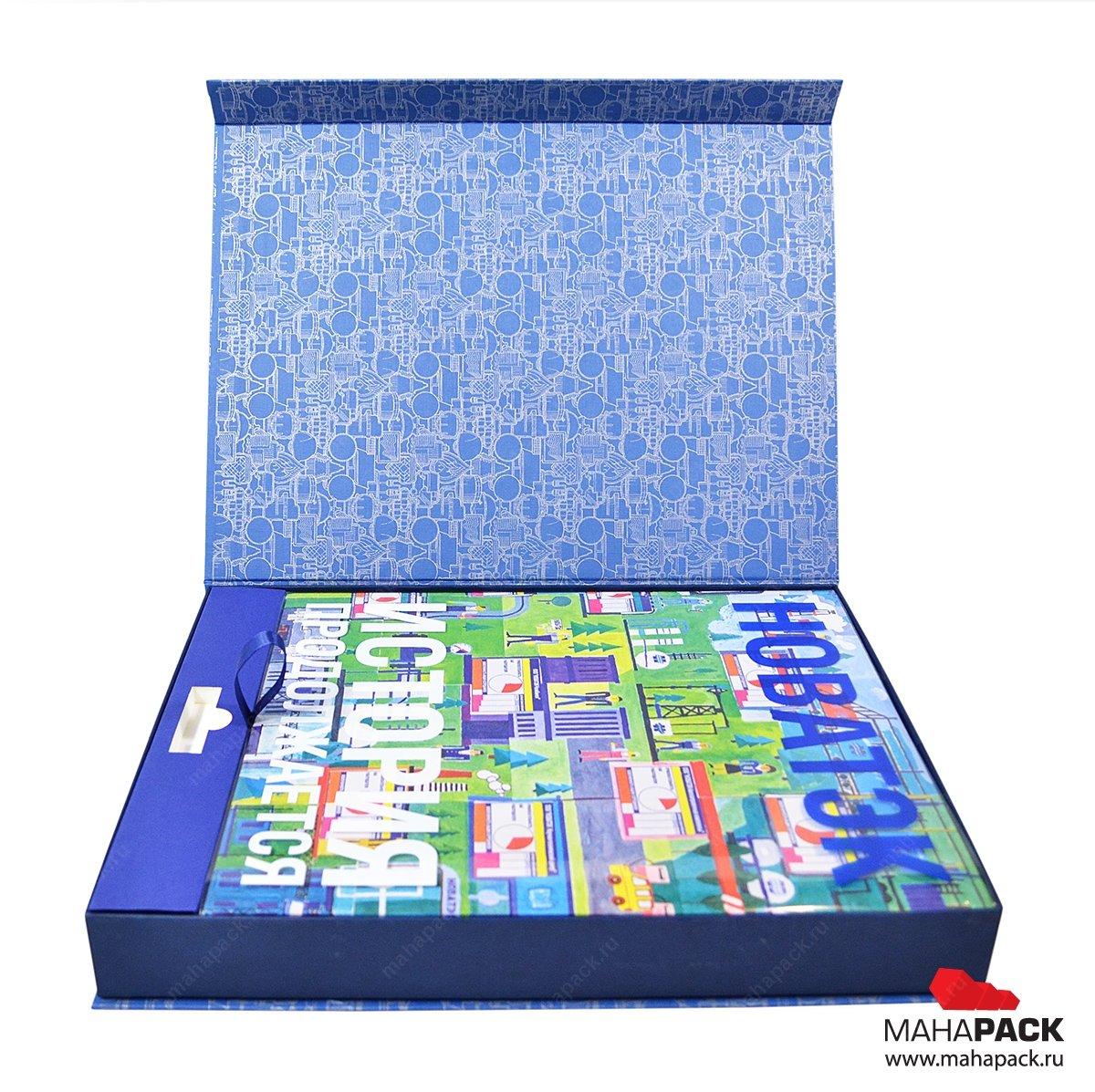 Изготовление коробки для книг на заказ