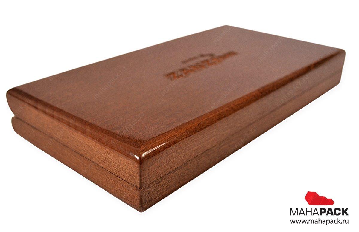 Деревянная шкатулка для чеков