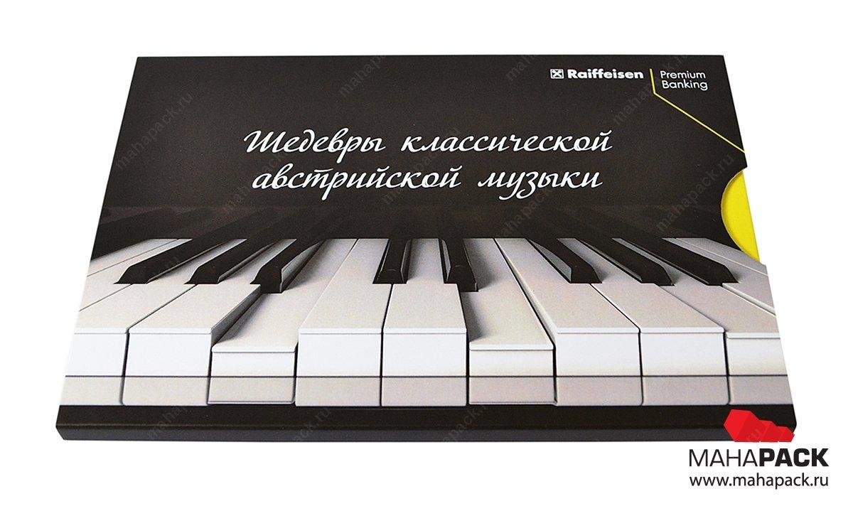 Производство картонных упаковок для CD