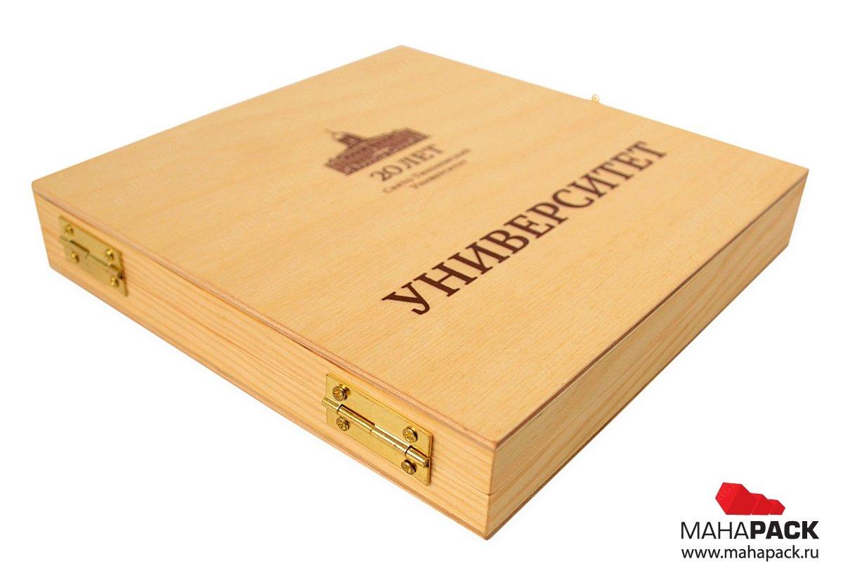 Изготовление упаковки из дерева