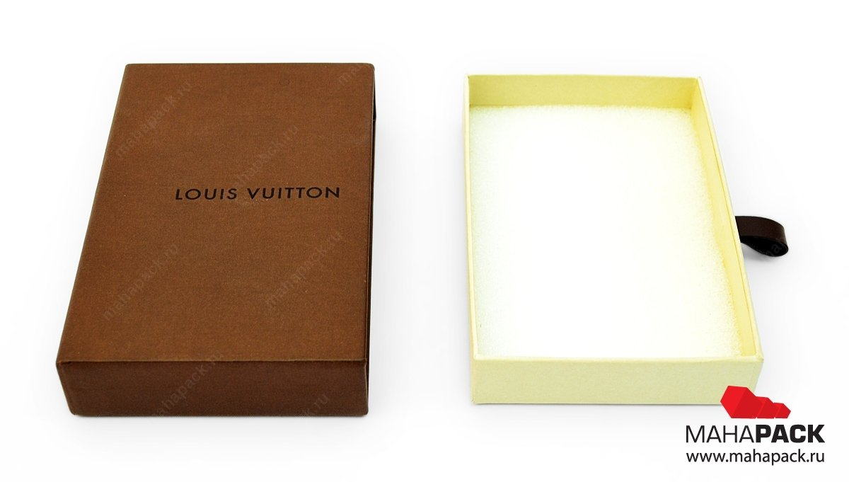Индивидуальная коробка для аксессуаров с выдвижным ящиком