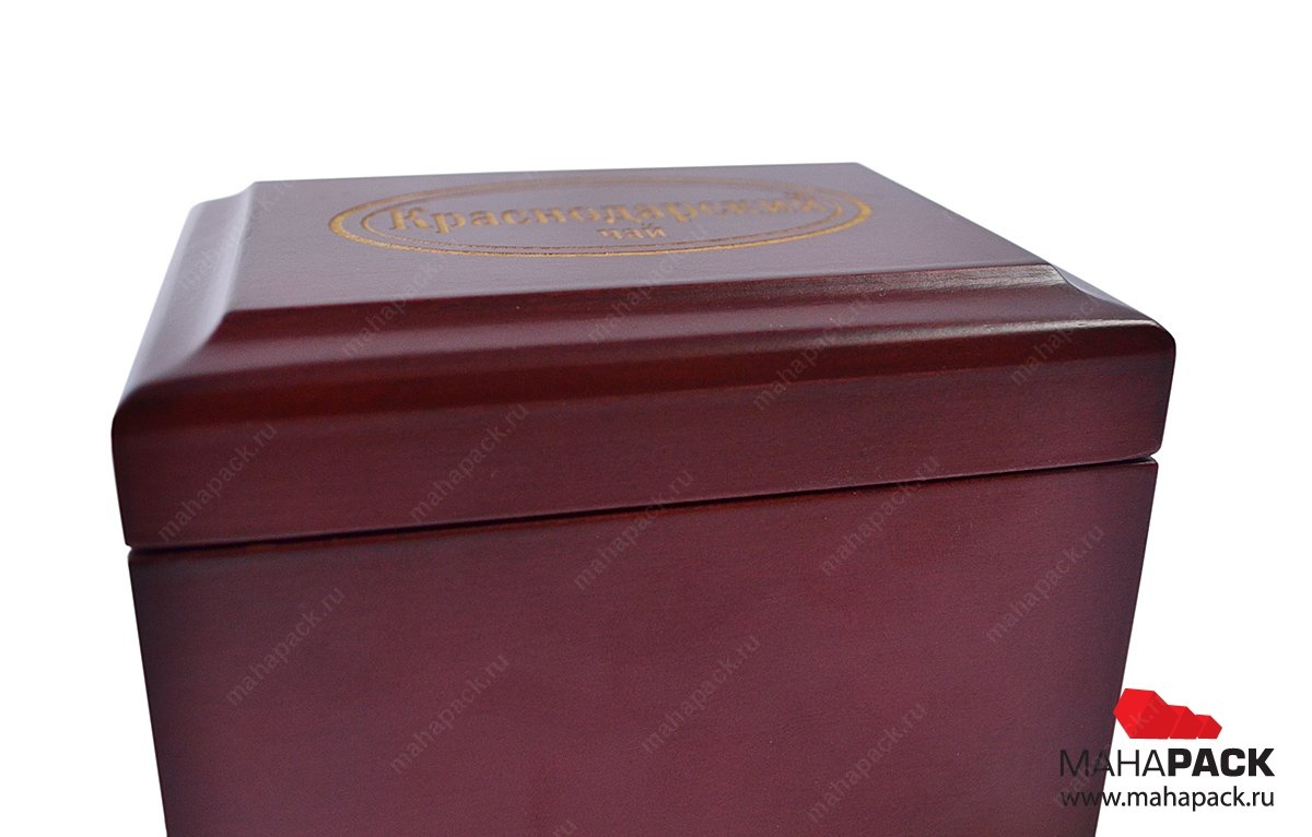 Деревянные коробки для чая