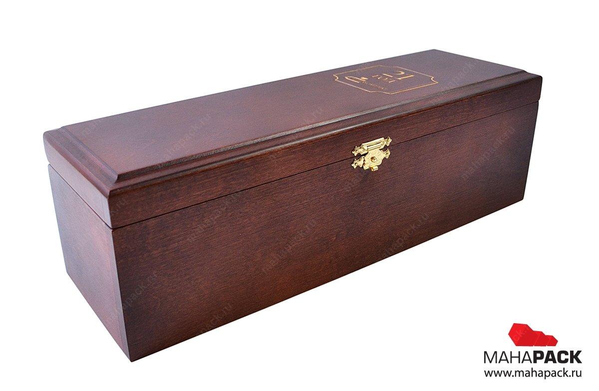 Упаковка деревянная подарочная