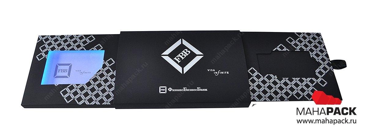 дизайнерская коробка-слайдер с подсветкой