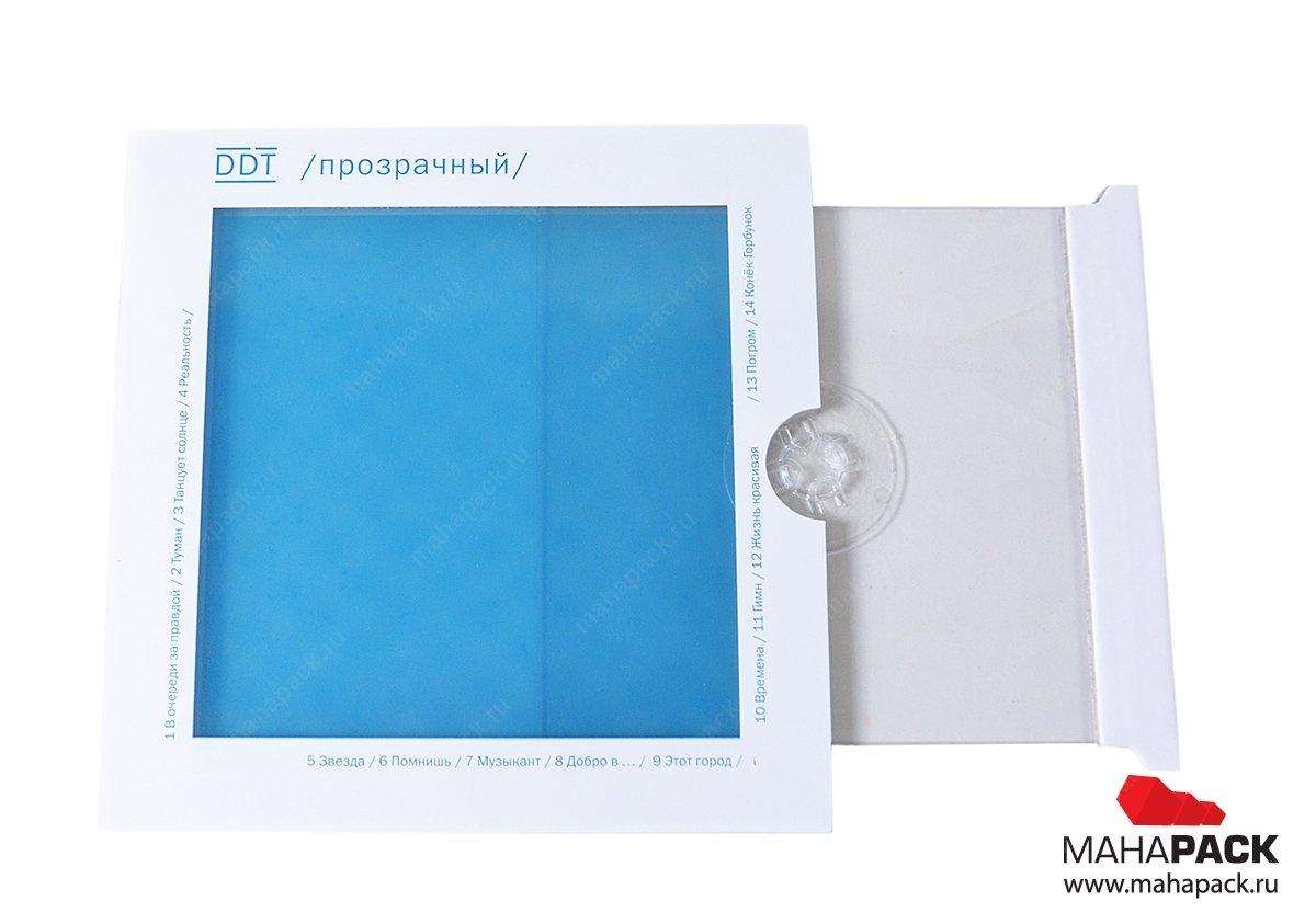 креативная упаковка для дисков под заказ