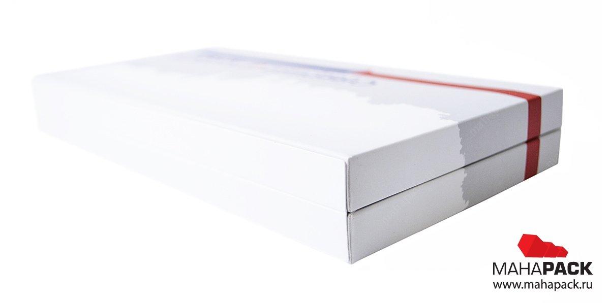 промоупаковка с печатью для флешки и пластиковых карт