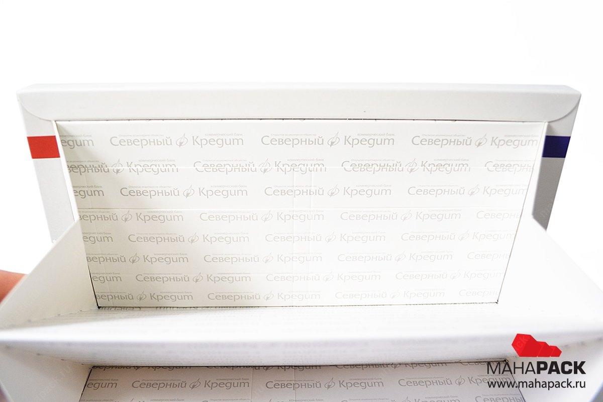 корпоративная упаковка с печатью