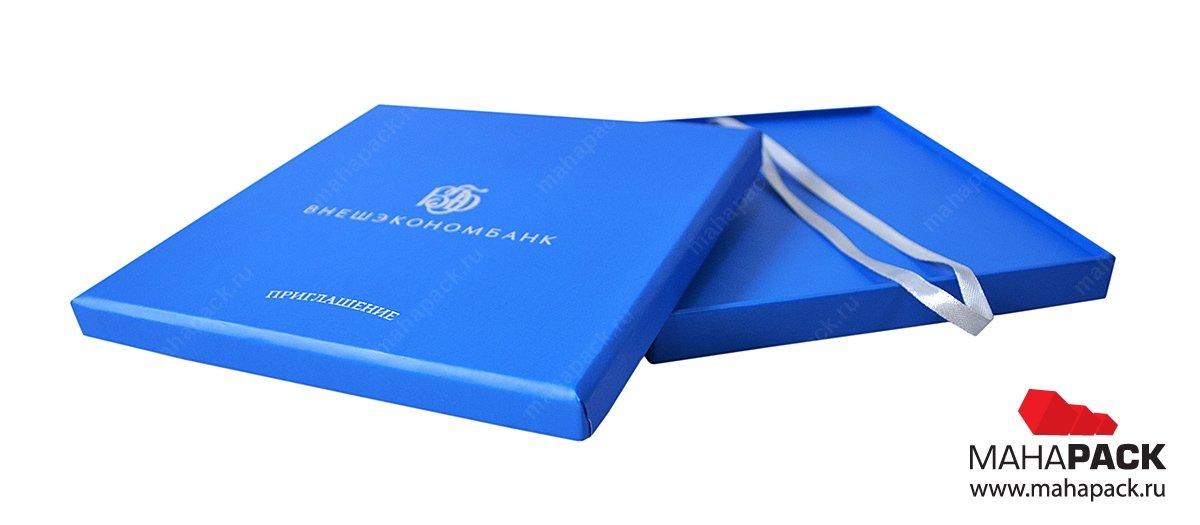 коробка с логотипом на заказ москва
