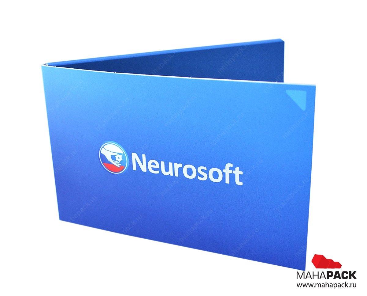 фирменная упаковка для флешки и брошюры