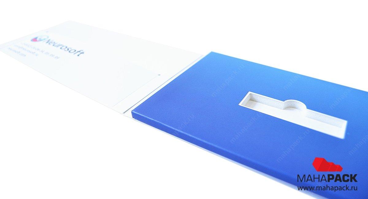 производство фирменной упаковки с ложементом