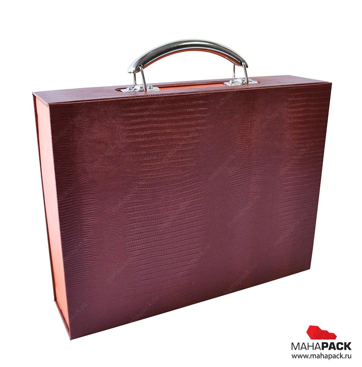 коробка-чемодан для образцов продукции