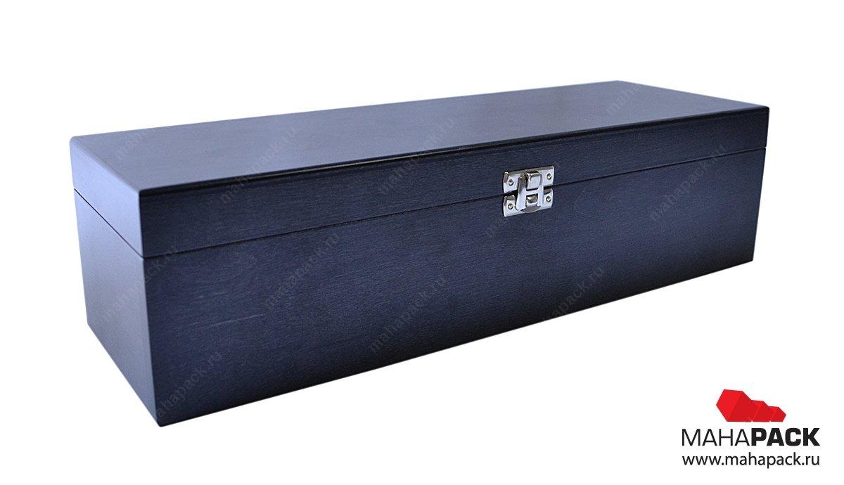 Деревянная коробка-шкатулка для сувениров