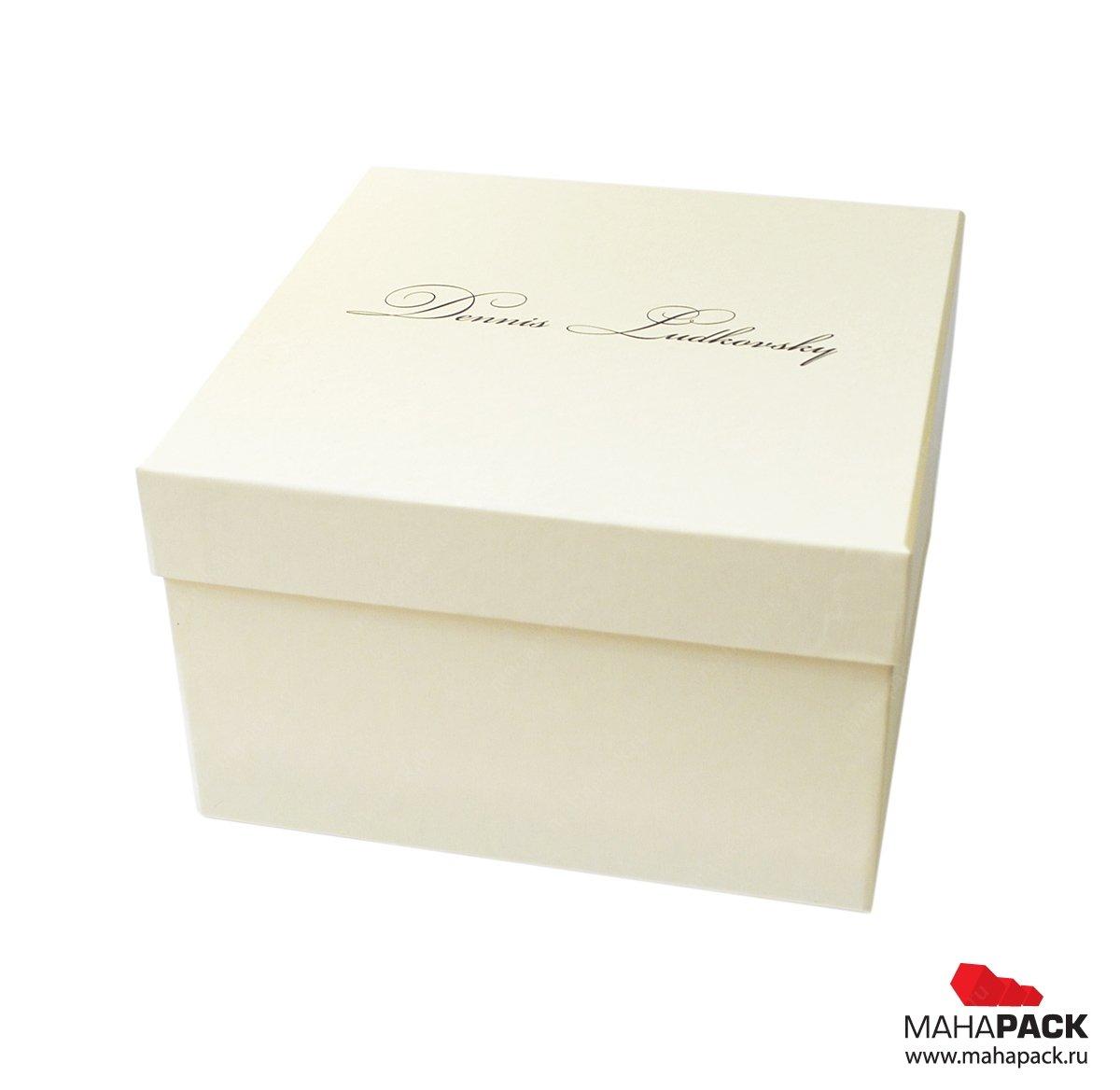Изготовление фирменных подарочных коробок на заказ
