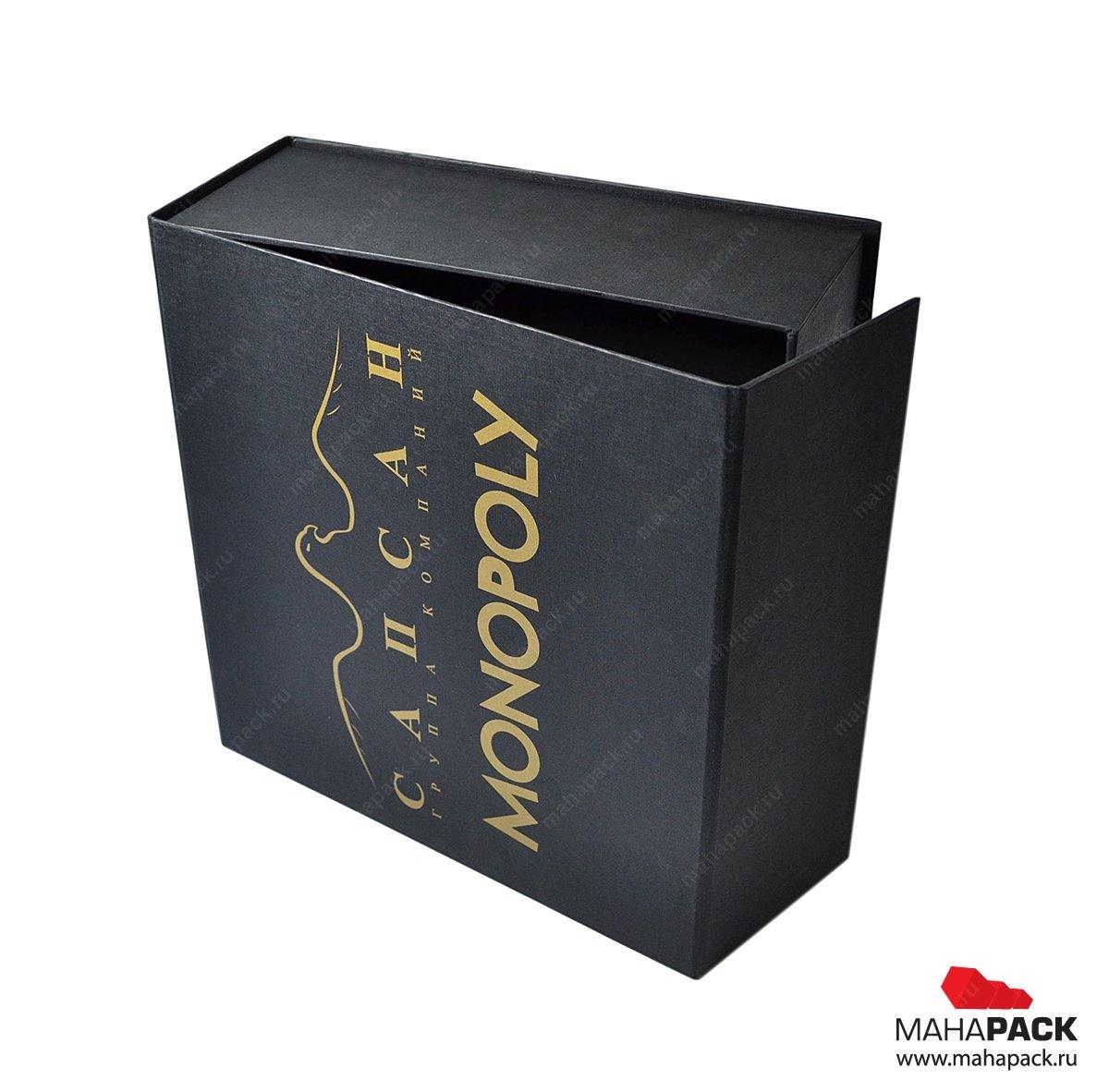 Кашированная коробка с логотипом