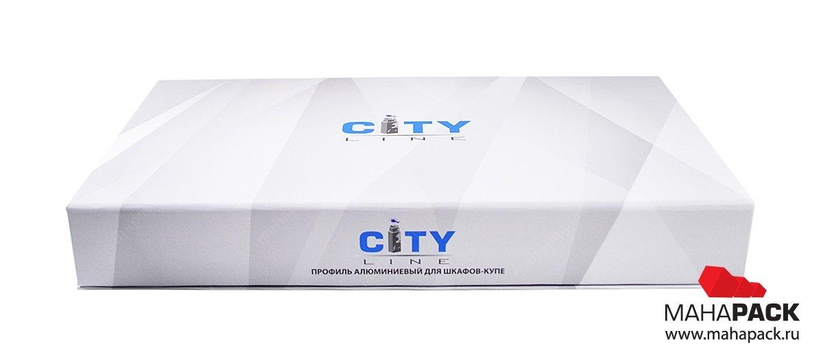 изготовление фирменных коробок с логотипом