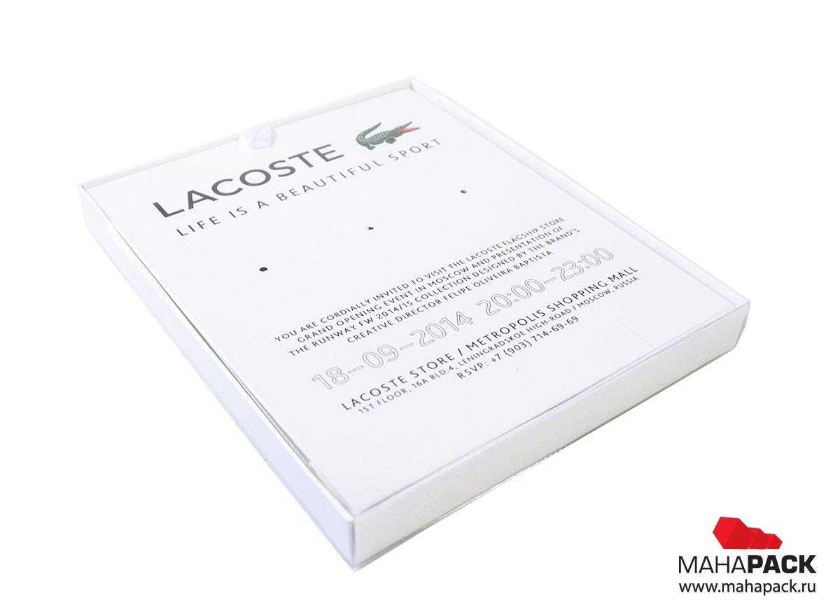 Креативная картонная упаковка для значков и сувениров