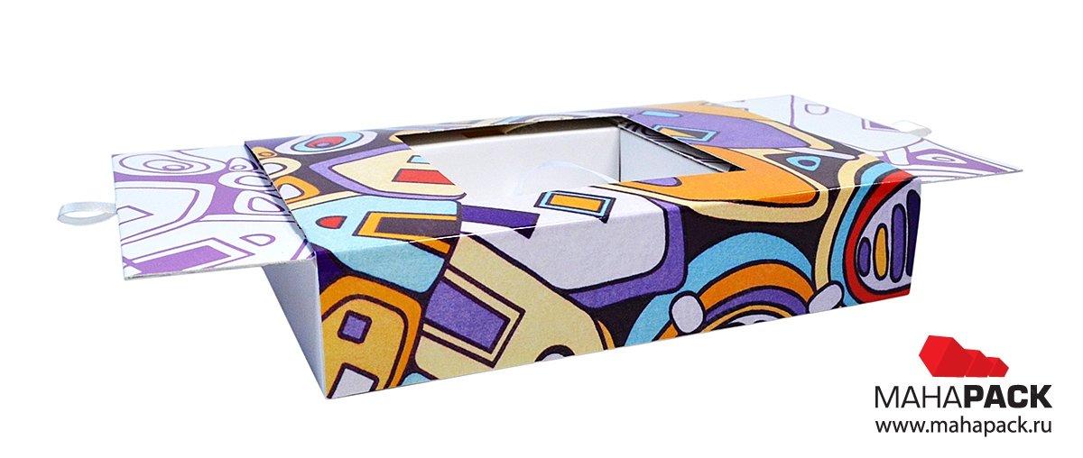 Подарочные коробки из картона на заказ