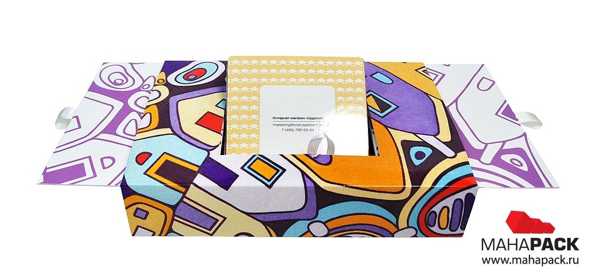 Изготовление коробок подарочных из картона