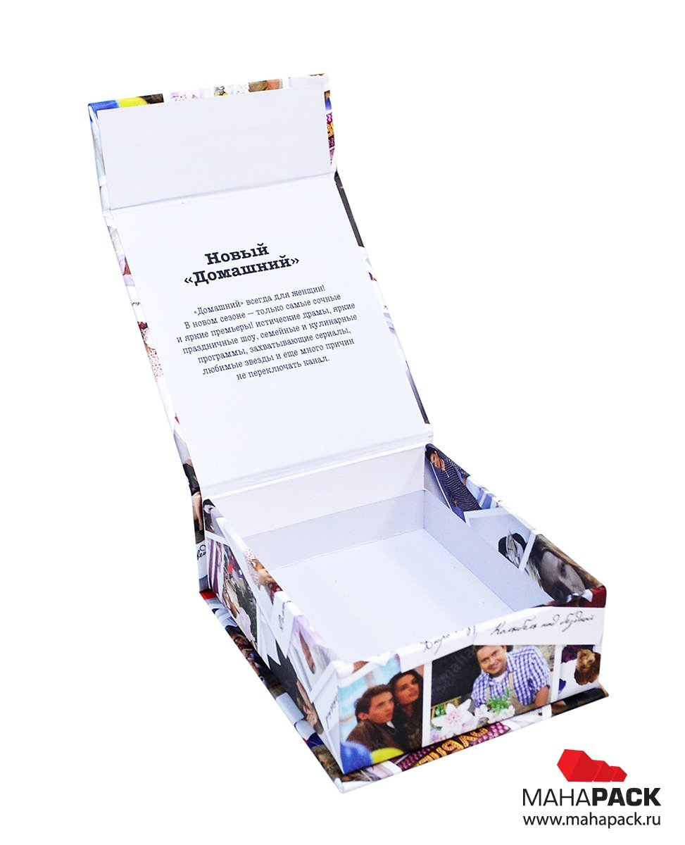 Коробка подарочная с клапаном на магните