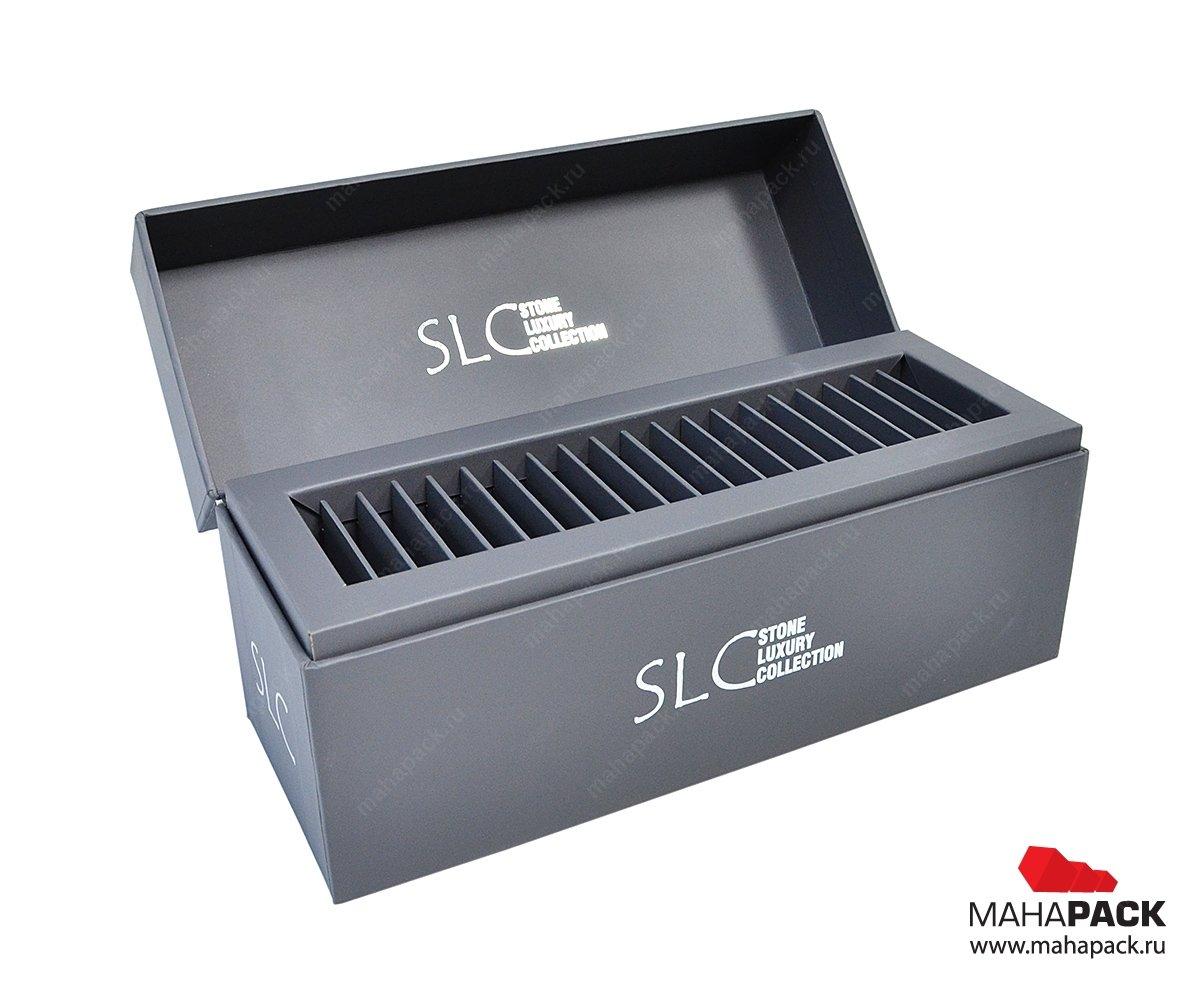 Дизайнерская коробка с кашированным ложементом