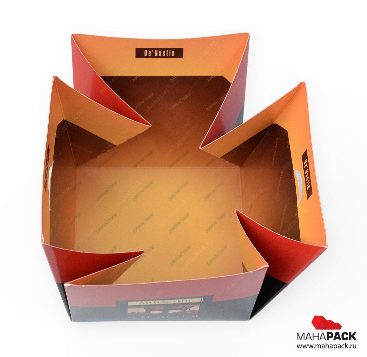 Коробка-трансформер кубик