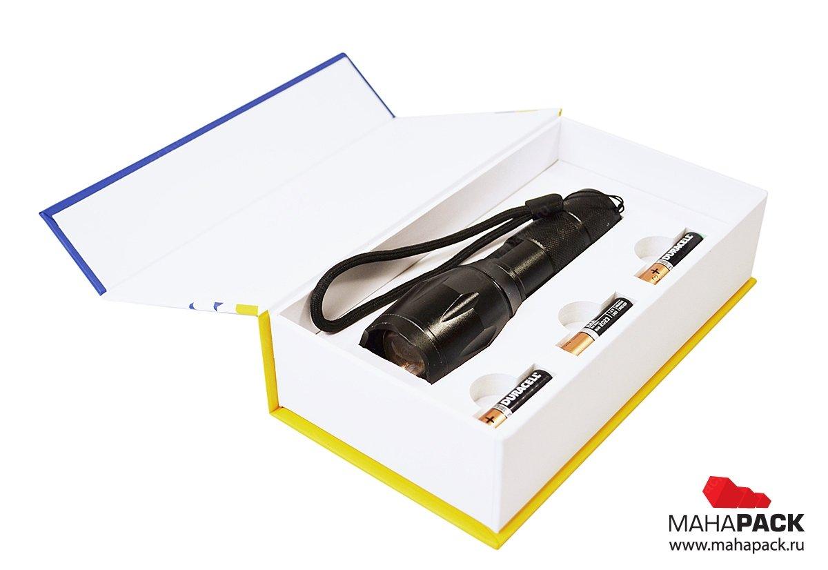 Коробка подарочная, упаковка с изолоновым ложементом