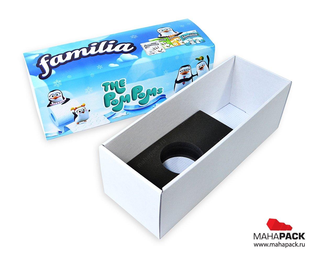 Самосборные подарочные коробки, производство под заказ
