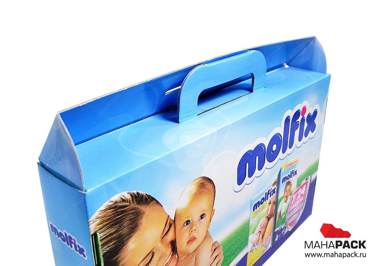 Коробка портфель для подарочного набора