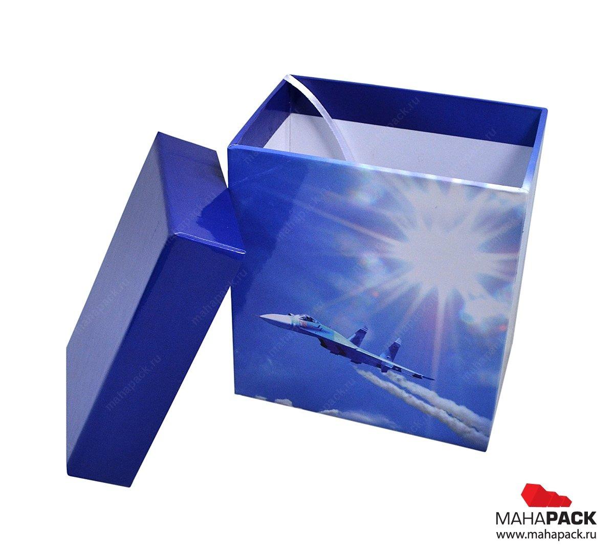 Изготовление подарочных коробок под заказ