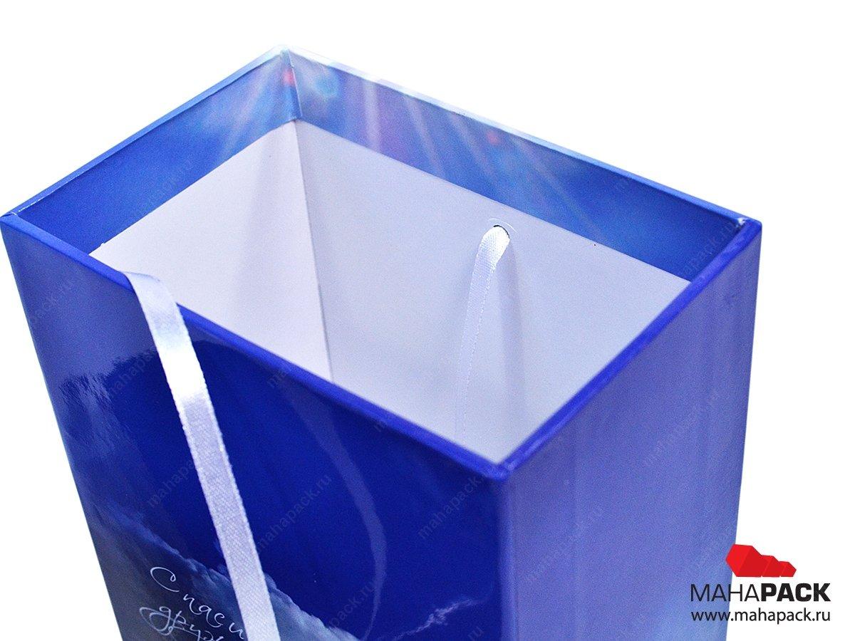 Коробка универсальная из переплётного картона