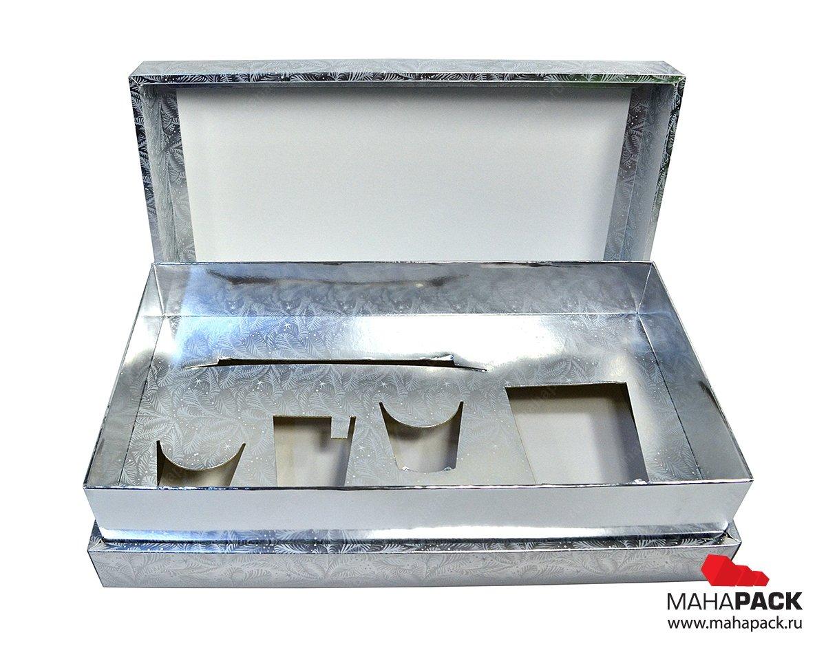 Печать на коробках из металлизированного картона