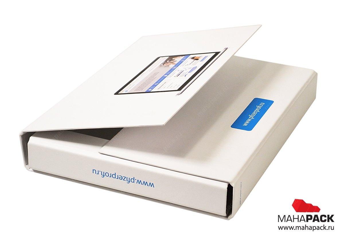 Папка для образцов продукции со скрытыми магнитами