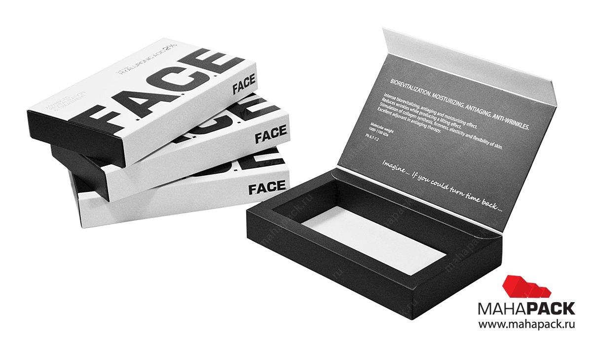 Производство коробок из картона со скрытыми магнитами