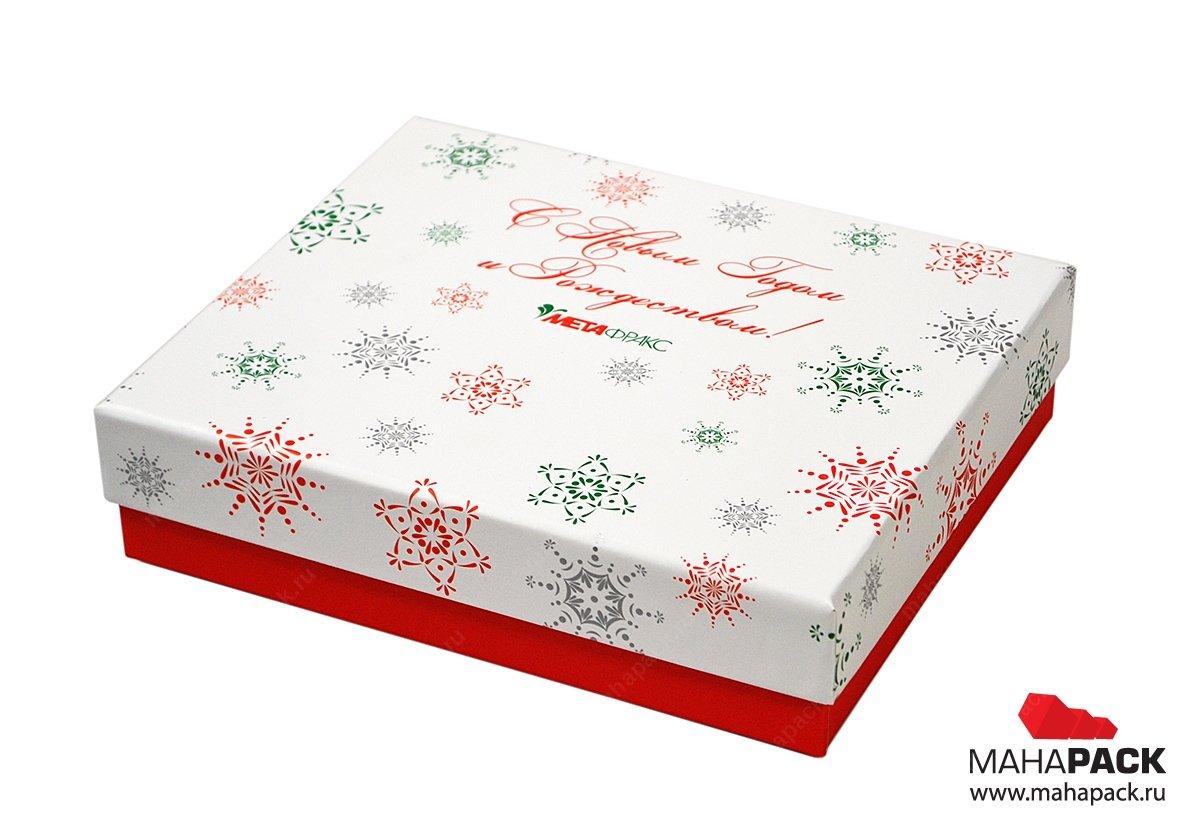 Подарочные коробки из переплётного картона под заказ