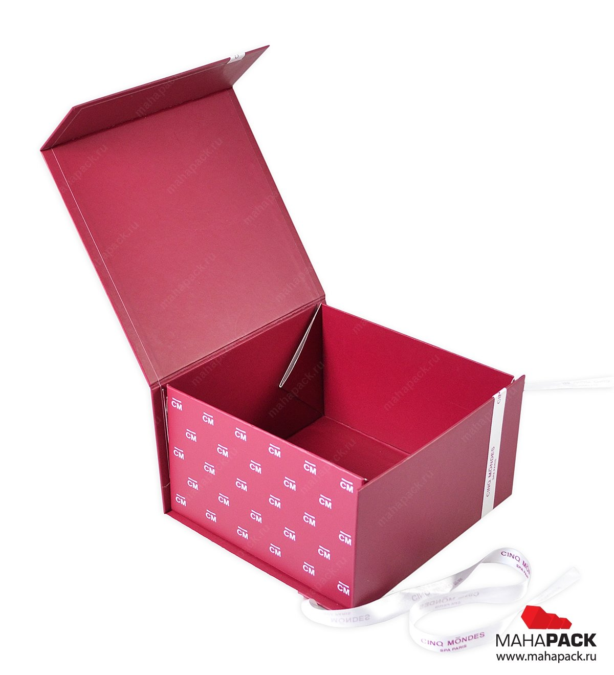 Кашированная коробка-трансформер для косметики