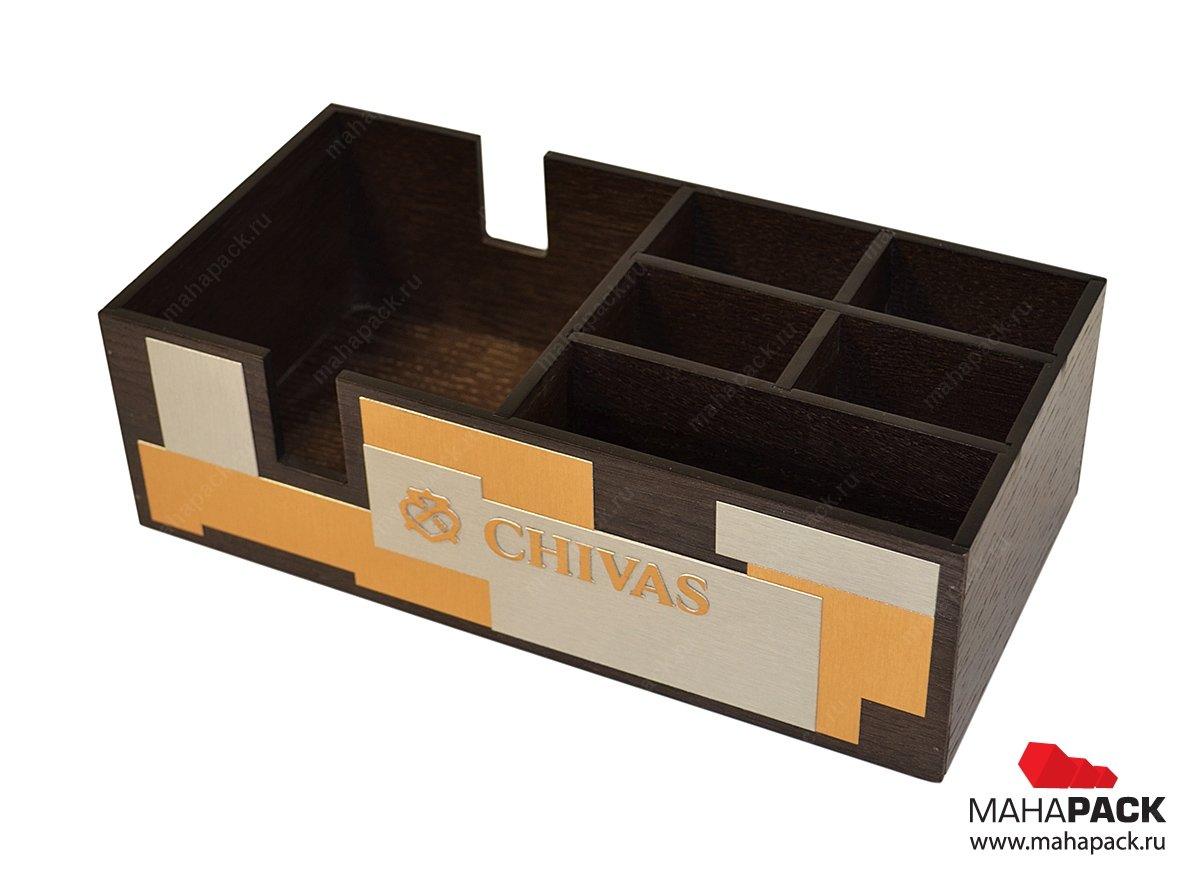 Подарочная деревянная упаковка на заказ