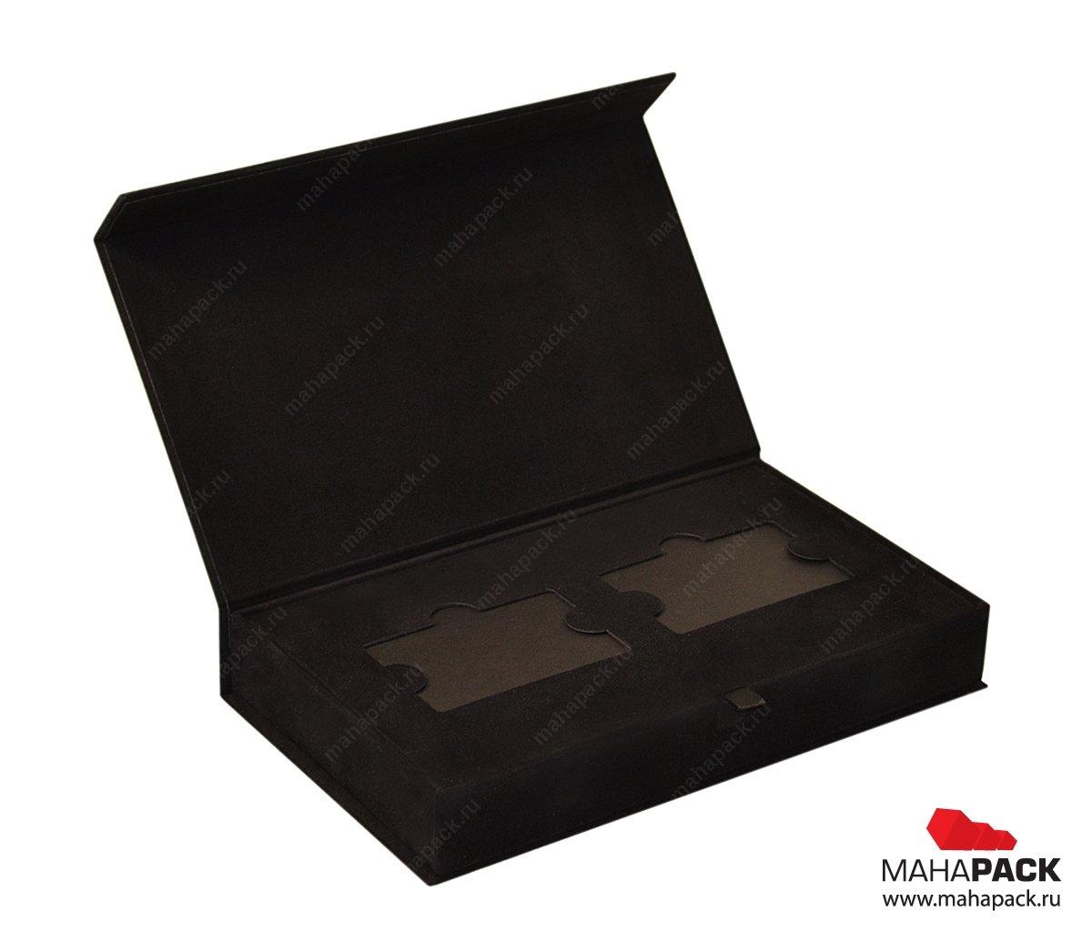 Кашированные коробки, изготовление упаковки для пластиковых карт