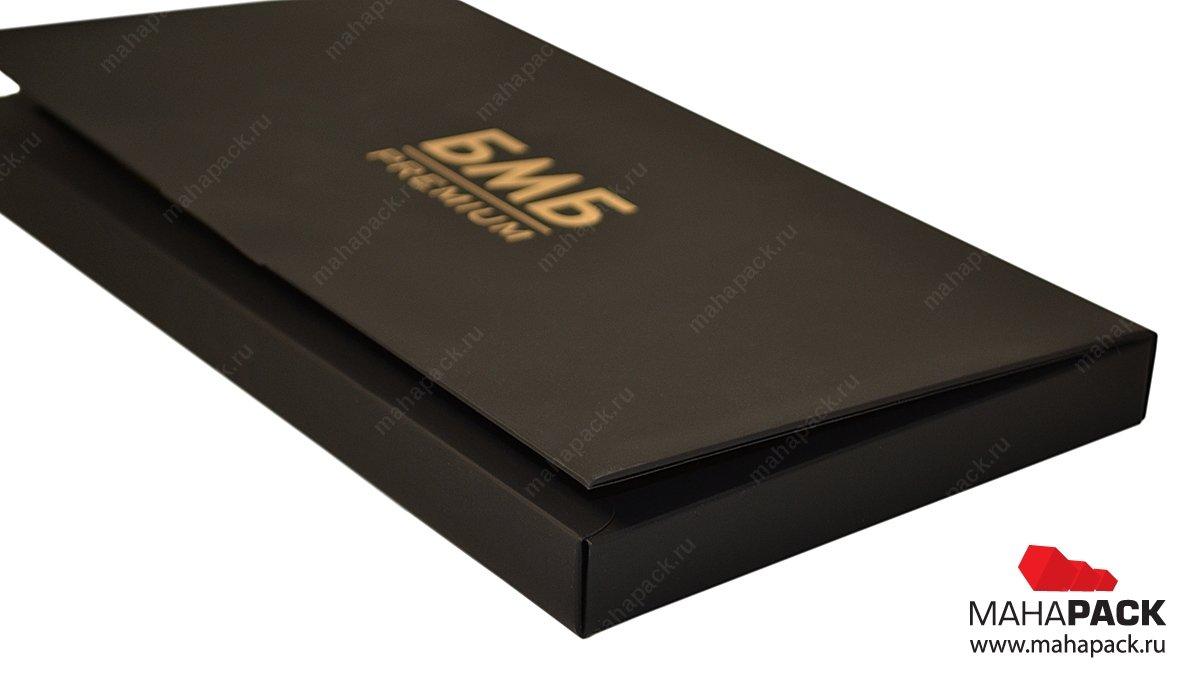Подарочная коробочка для банковских продуктов