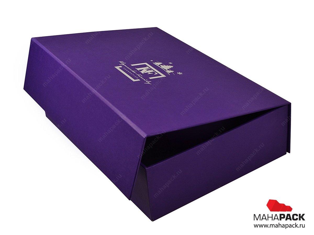 Фирменная коробка для подарка