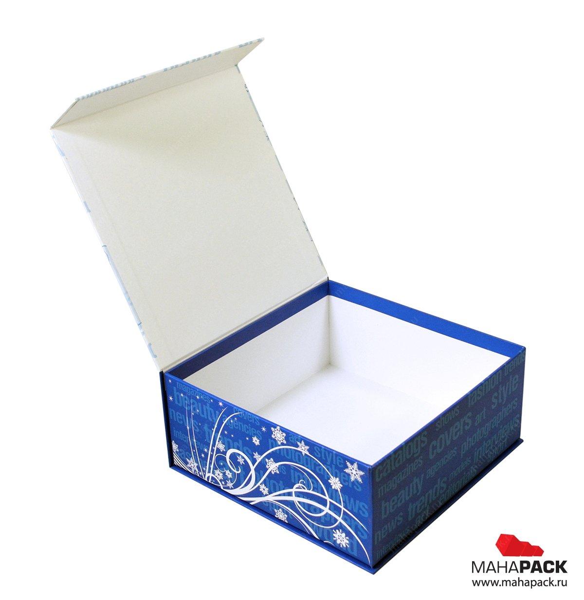 Коробочка из переплетного картона