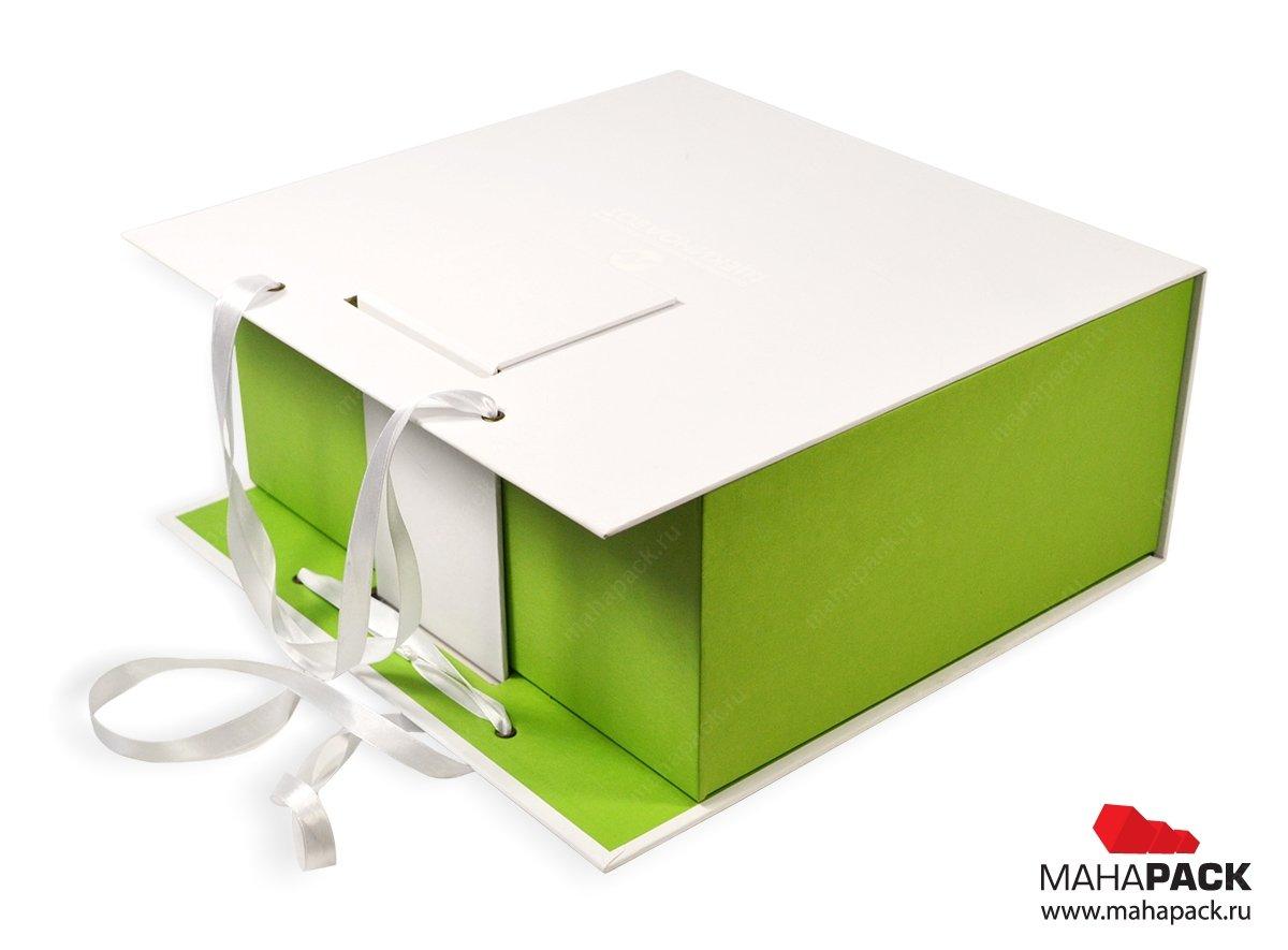 Эксклюзивная коробка портфель с магнитной застёжкой