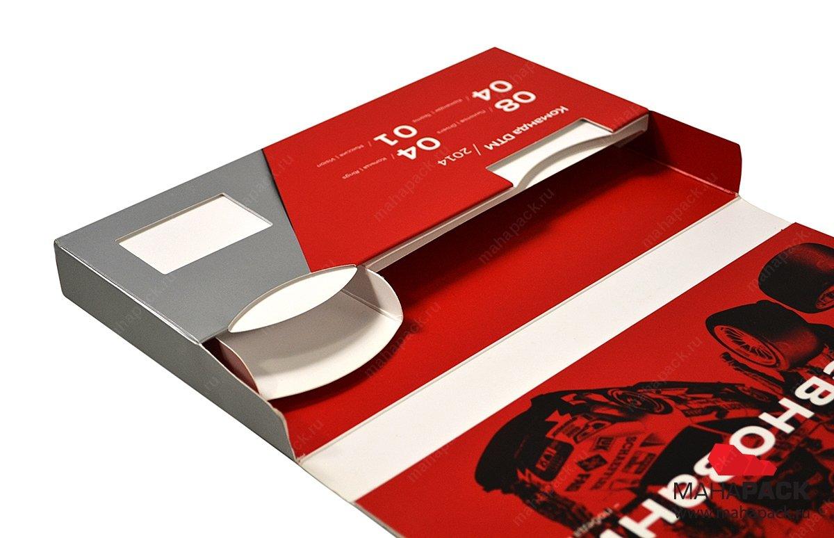 Современная упаковка для пакета услуг