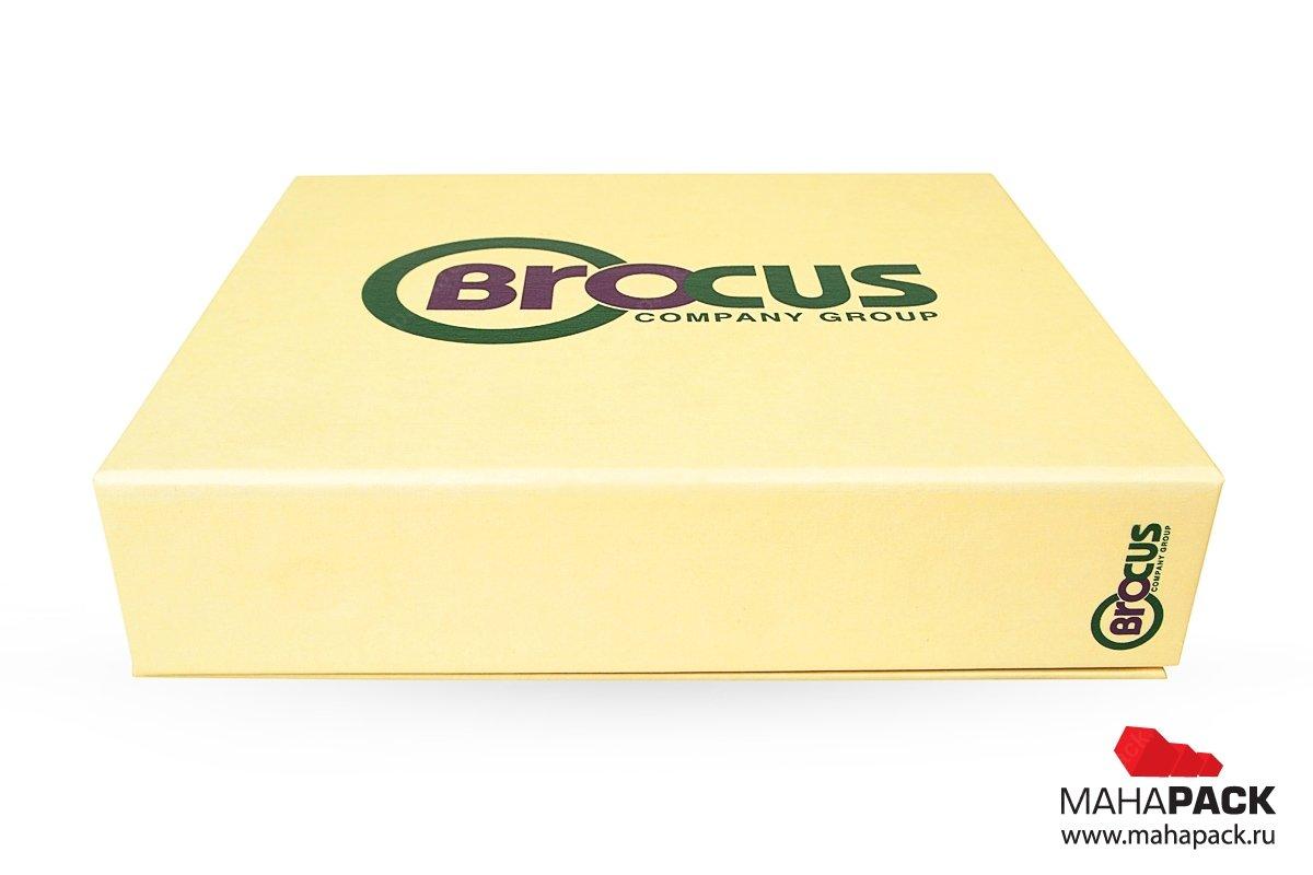 брендированные коробки с печатью